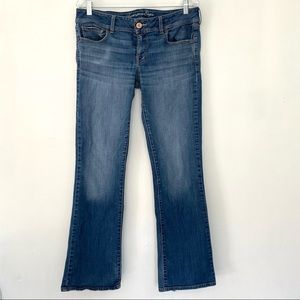American Eagle Outfitters Stretch Size 12 Mid Rise Slim Boot Cut Jeans